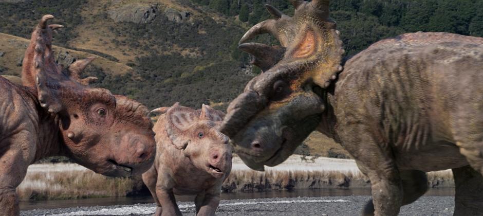 ללכת בין דינוזאורים – תלת ממד
