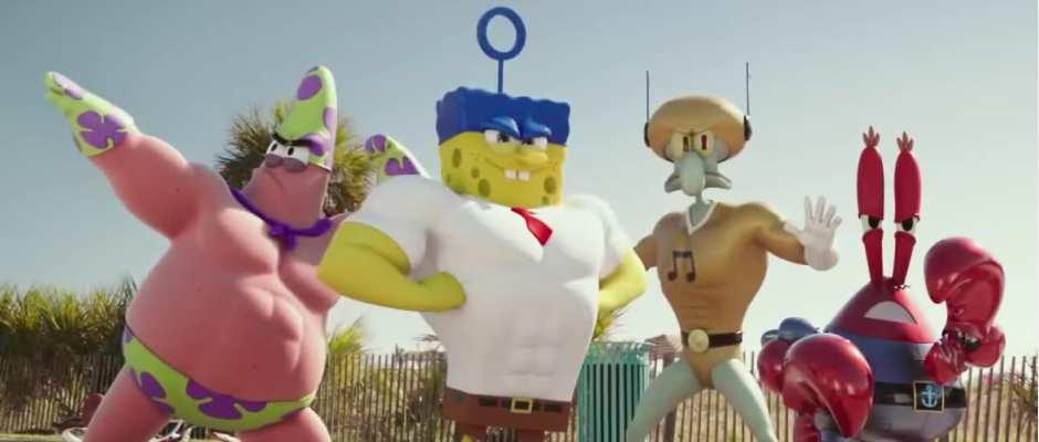 בובספוג מכנסמרובע - הסרט: ספוג מחוץ למים