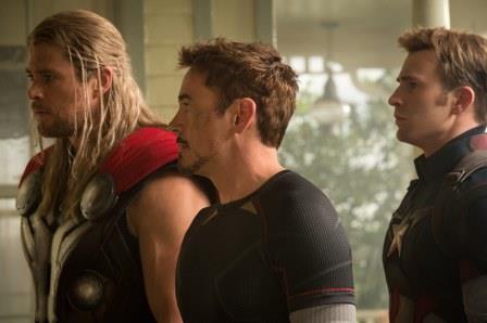 טוני סטארק, ת'ור וקפטן אמריקה