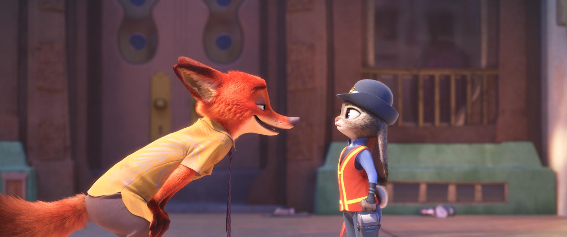 הארנבת ג'ודי והשועל ניק