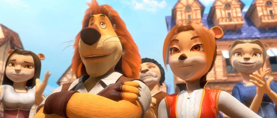 הרפתקאות מקס האריה בממלכת הקסמים