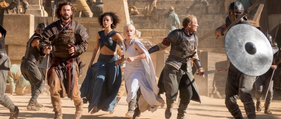 משחקי הכס עונה 5, פרק 9 – ריקוד עם דרקונים